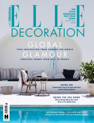 ELLE Decoration - UK August 2015