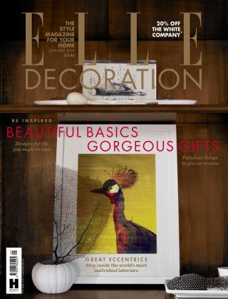 ELLE Decoration - UK January 2016