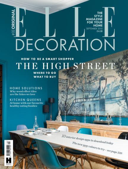 ELLE Decoration - UK August 06, 2014 00:00