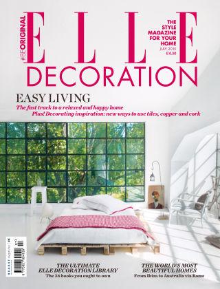 ELLE Decoration - UK July 2015