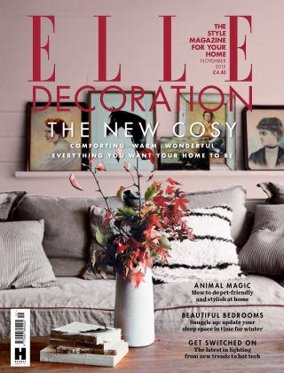 ELLE Decoration - UK November 2015