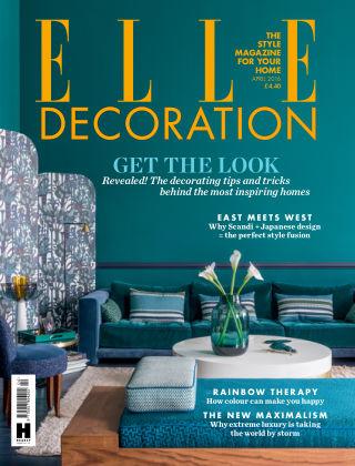 ELLE Decoration - UK April 2016