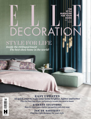 ELLE Decoration - UK May 2016
