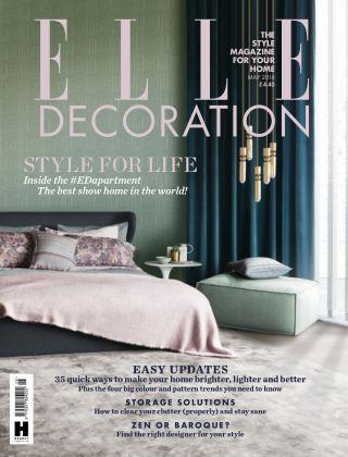 ELLE Decoration - UK May 2016