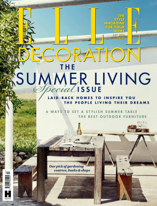 ELLE Decoration - UK July 2016