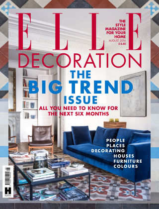 ELLE Decoration - UK August 2016
