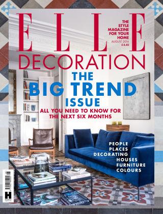 ELLE Decoration - UK August 2016