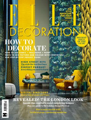 ELLE Decoration - UK October 2016
