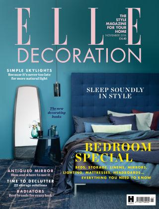 ELLE Decoration - UK November 2016