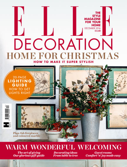 ELLE Decoration - UK November 03, 2016 00:00