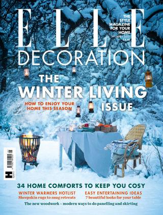 ELLE Decoration - UK January 2017