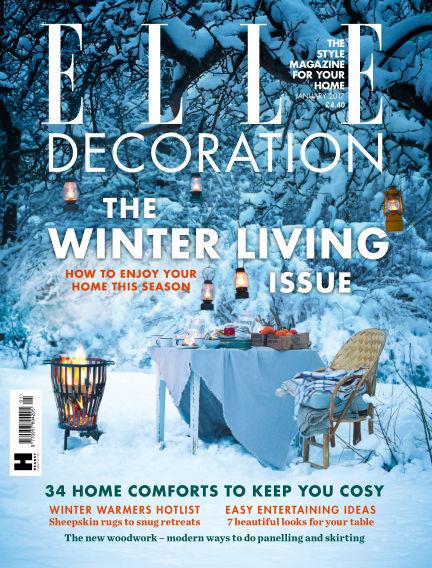 ELLE Decoration - UK December 08, 2016 00:00