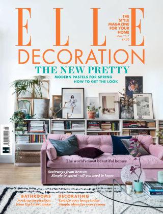 ELLE Decoration - UK May 2017