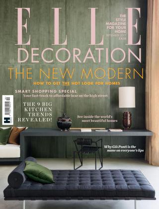 ELLE Decoration - UK Sep 2017