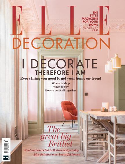 ELLE Decoration - UK August 31, 2017 00:00