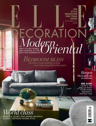 ELLE Decoration - UK Nov 2017
