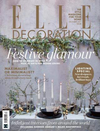 ELLE Decoration - UK Dec 2017