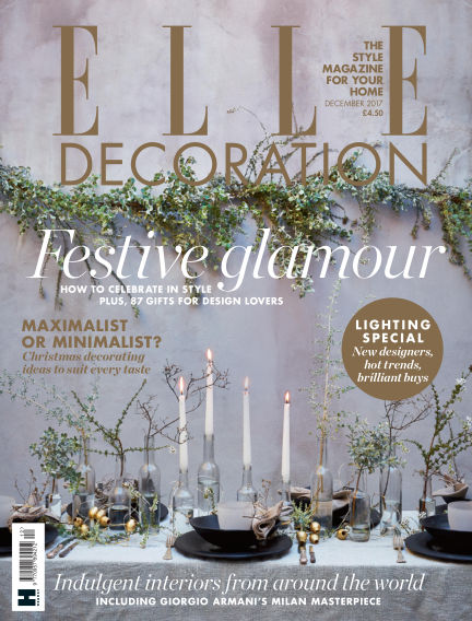 ELLE Decoration - UK November 02, 2017 00:00
