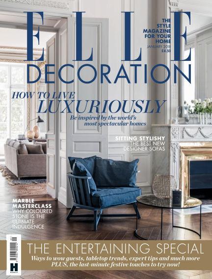 ELLE Decoration - UK December 05, 2017 00:00