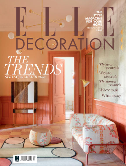 ELLE Decoration - UK January 04, 2018 00:00