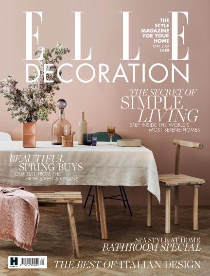 ELLE Decoration - UK April 05, 2018 00:00