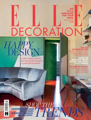 ELLE Decoration - UK Aug 2018