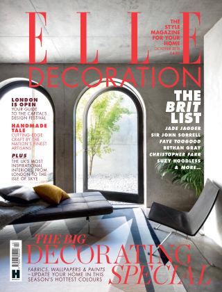 ELLE Decoration - UK Oct 2018