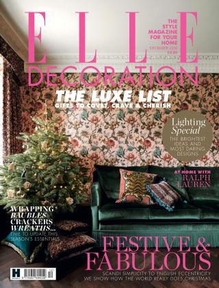 ELLE Decoration - UK Dec 2018
