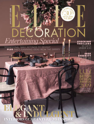 ELLE Decoration - UK Jan 2019