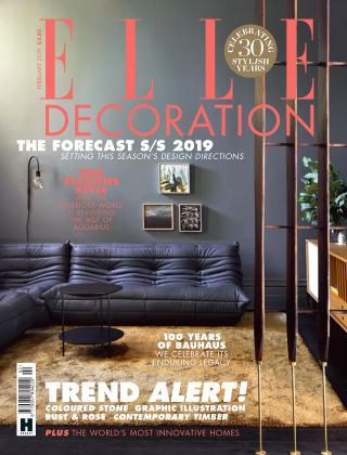 ELLE Decoration - UK Feb 2019