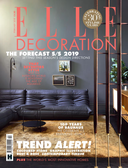 ELLE Decoration - UK January 03, 2019 00:00