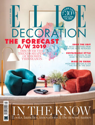 ELLE Decoration - UK Aug 2019