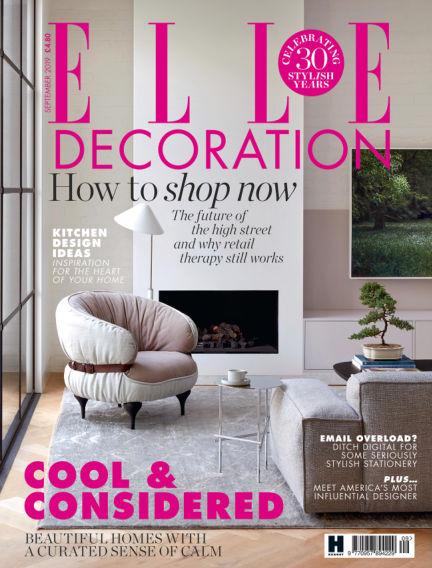 ELLE Decoration - UK August 01, 2019 00:00