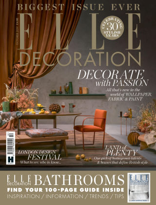 ELLE Decoration - UK Oct 2019