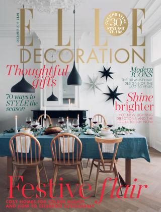 ELLE Decoration - UK Dec 2019