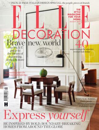 ELLE Decoration - UK August 2020