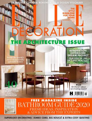 ELLE Decoration - UK November 2020