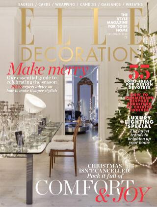 ELLE Decoration - UK December 2020