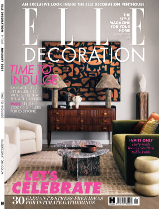 ELLE Decoration - UK January 2021
