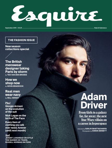 Esquire - UK August 04, 2015 00:00