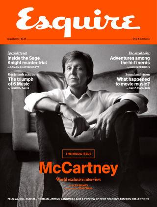 Esquire - UK August 2015