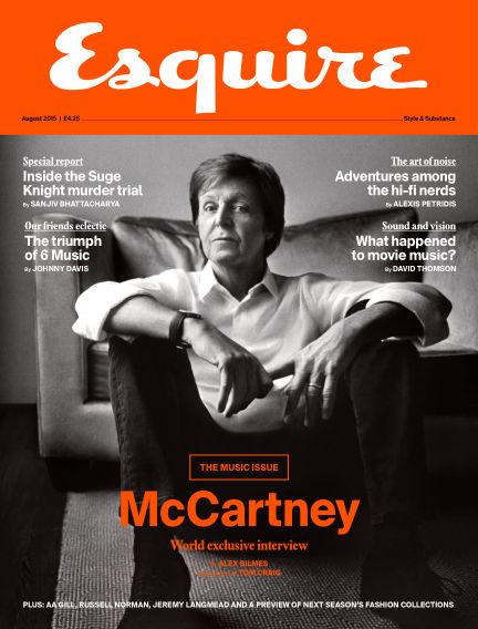 Esquire - UK July 02, 2015 00:00