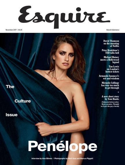 Esquire - UK October 17, 2017 00:00
