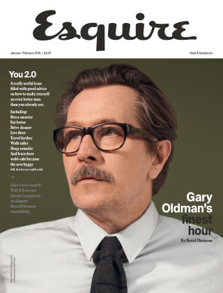 Esquire - UK Jan-Feb 2018