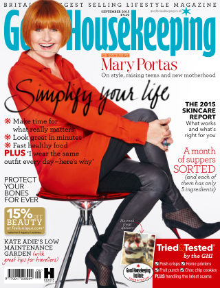 Good Housekeeping - UK September 2015