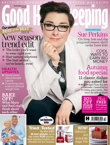 Good Housekeeping - UK September 02, 2015 00:00