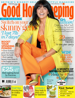 Good Housekeeping - UK February 2016