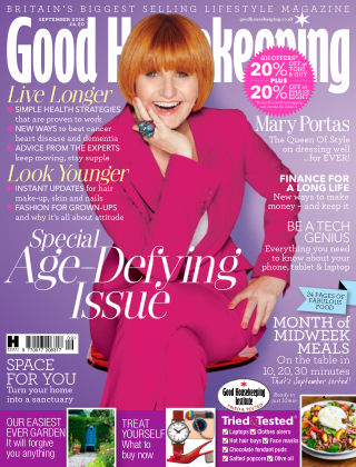 Good Housekeeping - UK September 2016