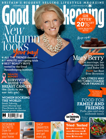 Good Housekeeping - UK August 30, 2016 00:00