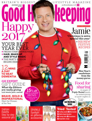 Good Housekeeping - UK January 2017